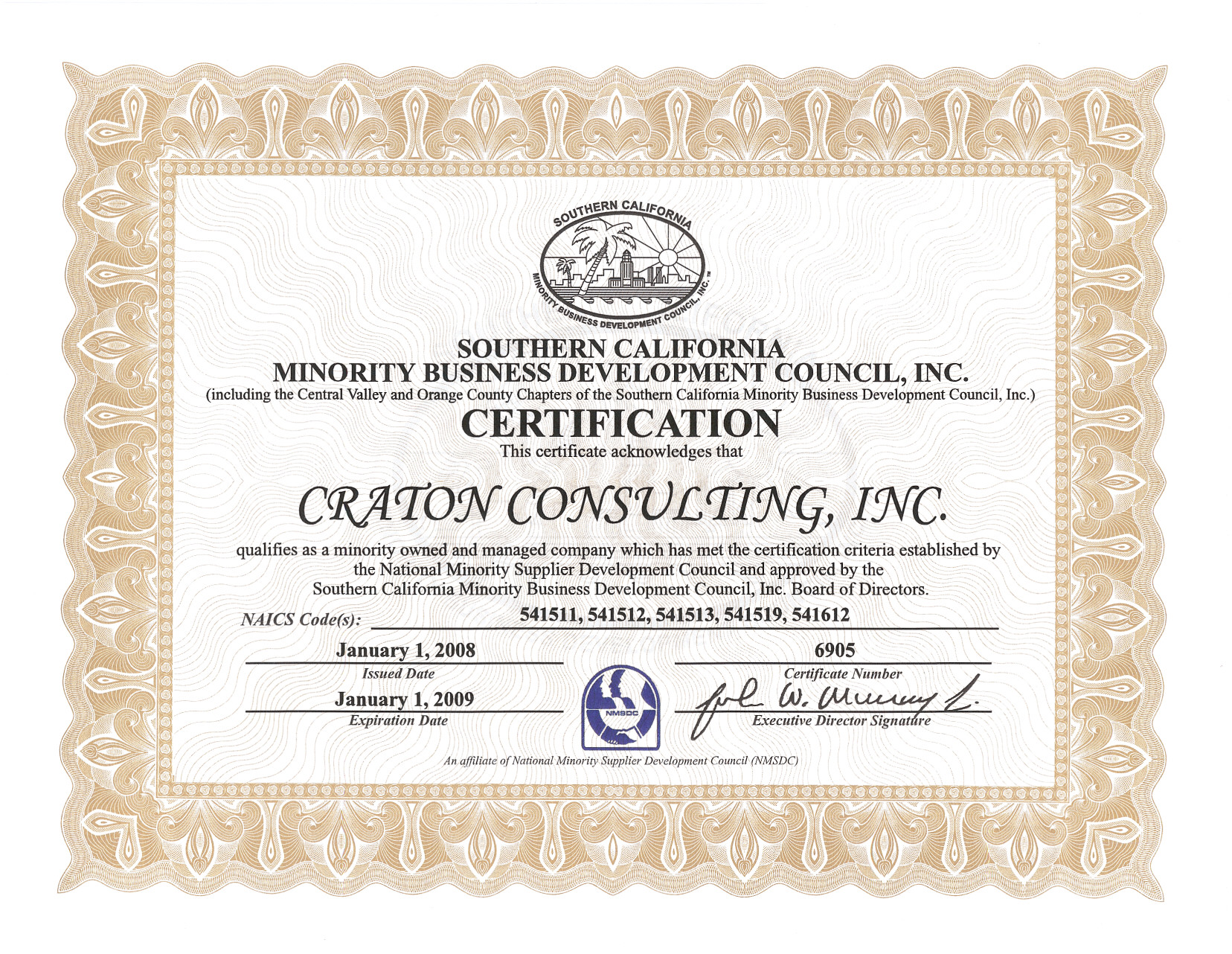 Craton Consulting Inc